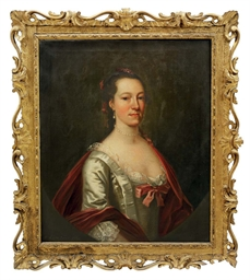 Portrait of Elizabeth, wife of
