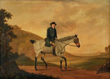 Portrait of Richard Davenport,