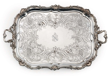 A VICTORIAN OLD SHEFFIELD PLAT