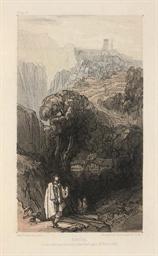 LEAR, Edward (1812-88). Journa