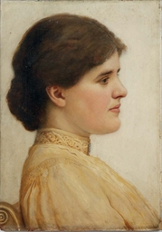 Portrait of Clothilde Enid Wid