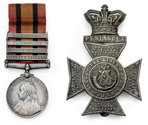 QUEEN'S SOUTH AFRICA MEDAL 189