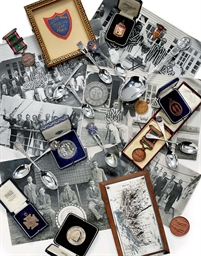 A COLLECTION OF MEDALS, PHOTOG
