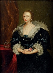 Portrait of Queen Henrietta Ma