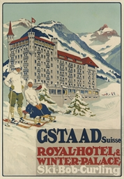 GSTAAD, ROYAL-HOTEL & WINTER P