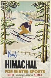 VISIT HIMACHAL FOR WINTER SPOR