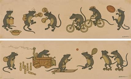 RATS AT PLAY