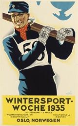 WINTERSPORT-WOCHE 1935, OSLO,