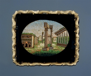A mid 19th century micromosaic