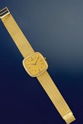 A wristwatch, by Piaget