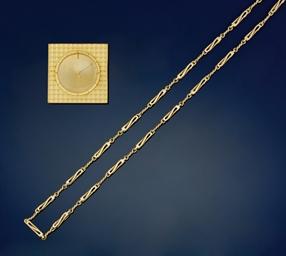 A group of gilt items