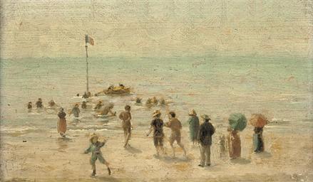 A sunny day on the beach