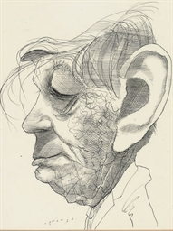 Portrait of W. H. Auden