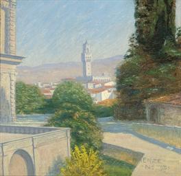 Before the Palazzo Vecchio, Fl
