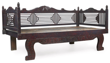 A SOUTH EAST ASIAN DAY-BED