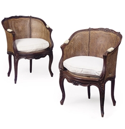 A PAIR OF FRENCH PROVINCIAL CA