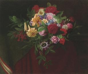 A bouquet of summer blooms