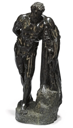 AN ITALIAN SERPENTINE FIGURE O