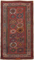 An antique Moghan rug