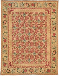 A fine needlepoint carpet