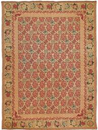 A fine needlepoint carpet