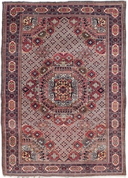 An unusual Caucasian carpet