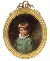 Portrait of Viscount Castleross, Earl of Kenmare as a boy