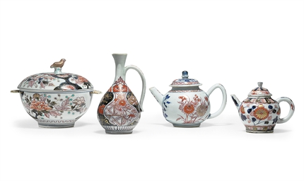 A GROUP OF SMALL IMARI WARES