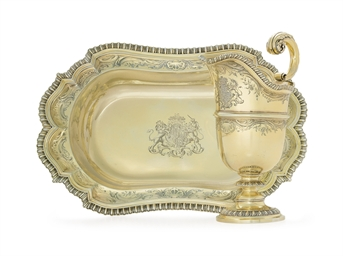 A GEORGE IV ROYAL SILVER-GILT