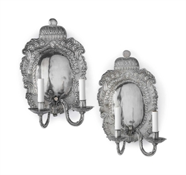 A PAIR OF ANGLO-DUTCH REPOUSSE