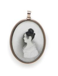 A Profile Portrait Miniature