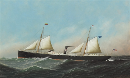 The Steamship Caracas
