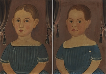 Portrait of Twin Sisters