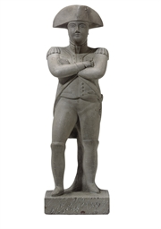 A MOLDED STATUE OF GENERAL MAR