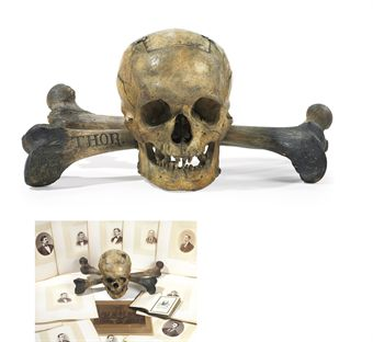 d5286778l Grisly Skull and Bones trophies to be auctioned