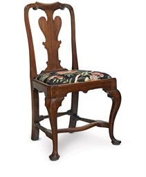 A QUEEN ANNE CEDAR SIDE CHAIR