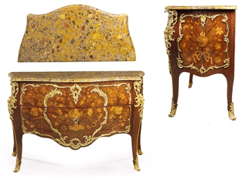 A LOUIS XV ORMOLU-MOUNTED AMAR