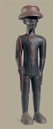 A Senufo Standing Colonial Mal