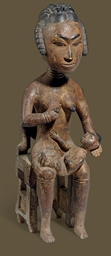 An Ashanti Seated Maternity Fi