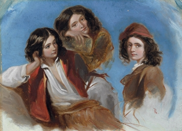 Study of three Italian youths