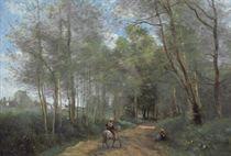 Ville d'Avray - Le Cavalier à la entrée du bois
