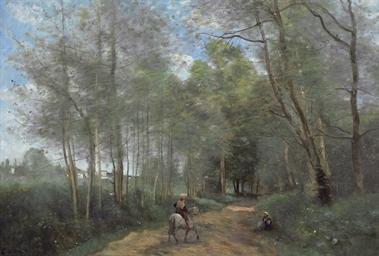 Ville d'Avray - Le Cavalier à