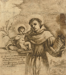 Saint Anthony of Padua with th