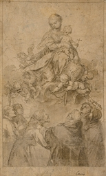 The Virgin and Child in glory,