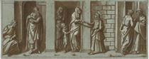 Saint John the Baptist taking leave of his mother