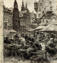 The market at Nuremberg