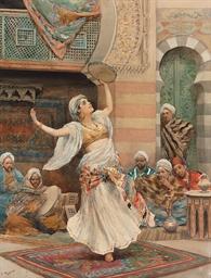The Tambourine Dancer