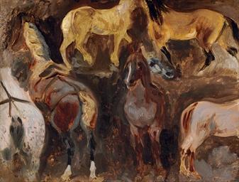 Étude de chevaux