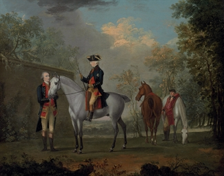 An equestrian portrait of His