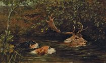 A Stag at Bay